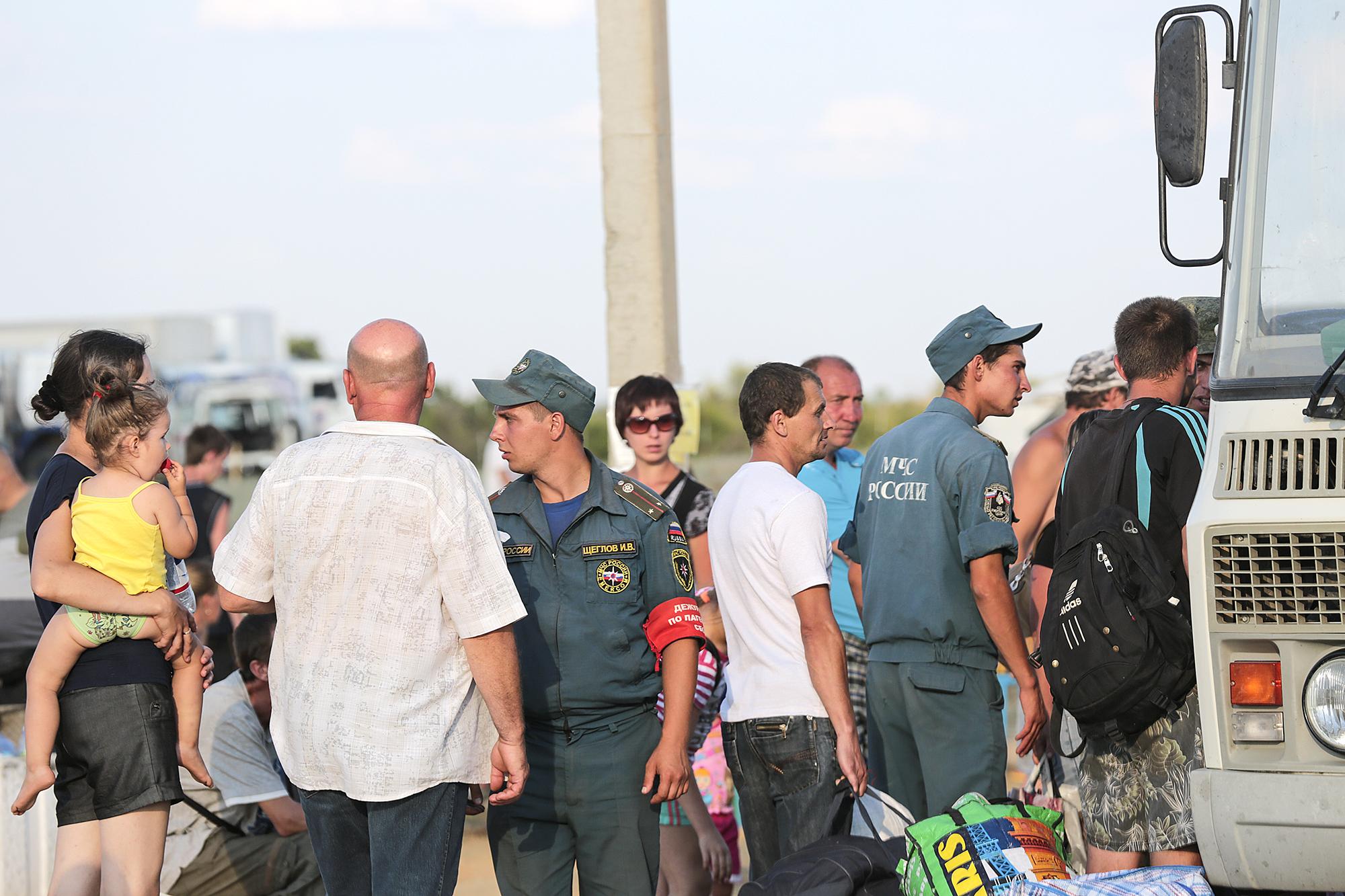 Лагерь беженцев в гуково фото 8