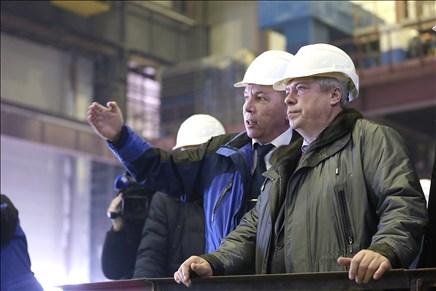 Четвертый энергоблок Ростовской АЭС готов на 40%