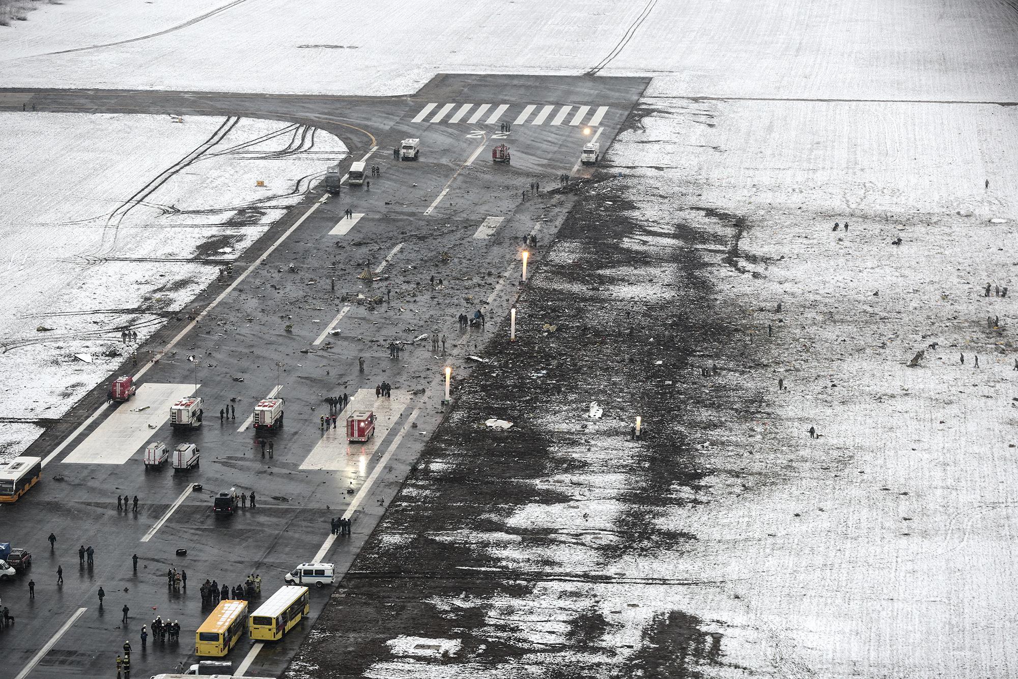 Фото с места крушения боинга 737 3