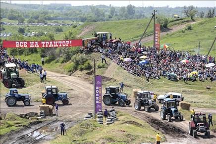ВРостовской области 4июня пройдут гонки натракторах