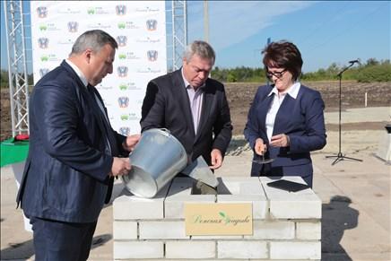 Началось строительство крупнейшего в Ростовской области тепличного комплекса