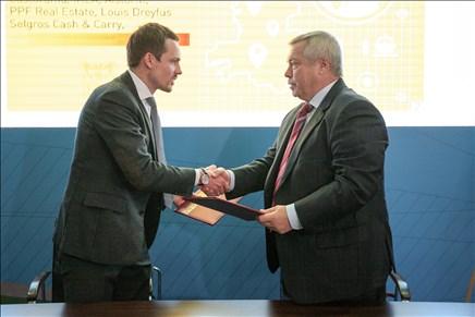 ВРостовской области появится 1-ый оптово-распределительный центр