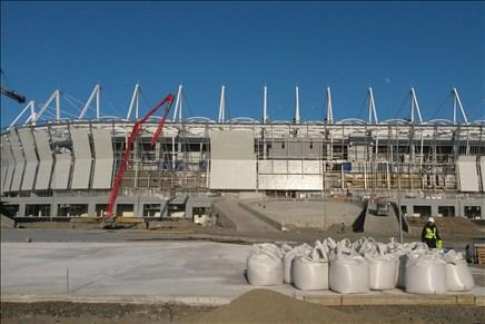 Строительство «Ростов-Арены» окончено на75%