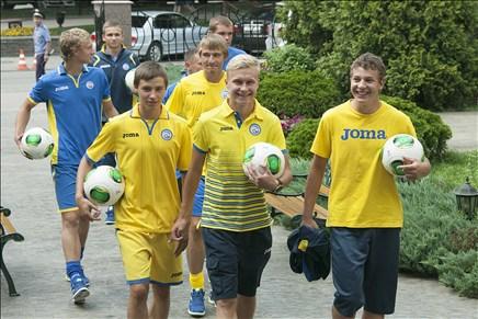 Молодые спортсмены ФК «Ростов»