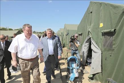 В Ростовской области будет развернут палаточный городок для украинских беженцев на 1000 мест