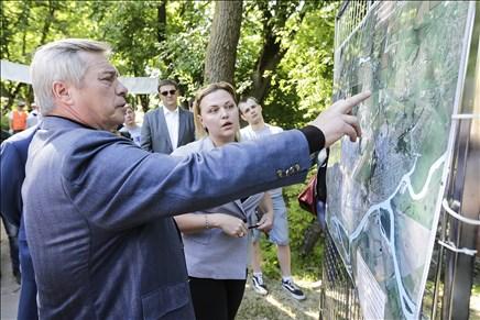 Донской губернатор взялся за чистку реки Темерник отмусора источных вод