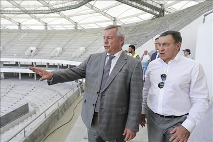 «Ростов-Арену» достроили на85 процентов