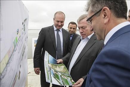 Проектирование спортивного кластера налевом берегу Дона планируют закончить в последующем 2018