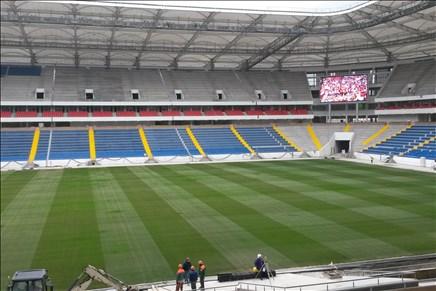 На «Ростов-Арене» осветят иподогреют газон