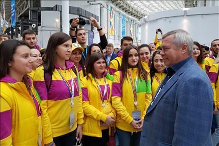 Путин примет участие воткрытии фестиваля молодежи истудентов вСочи