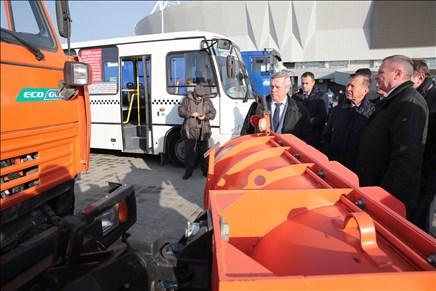 Публичный транспорт Ростова поэтапно будут переводить нагазовое горючее