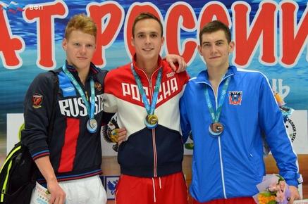 Бронзовую медаль счемпионата РФ привез ростовский пловец Илья Хоменко