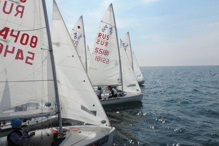Яхтсмены выступили наэтапе Кубка РФ вСочи