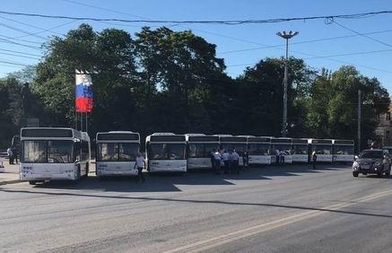 ВРостове 10 новых МАЗов выйдут наавтобусные маршруты №67 и98