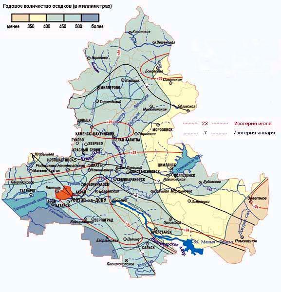 скачать карту ростовской области