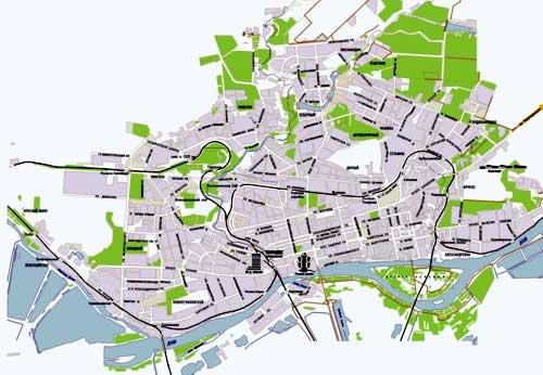 Карта составлена