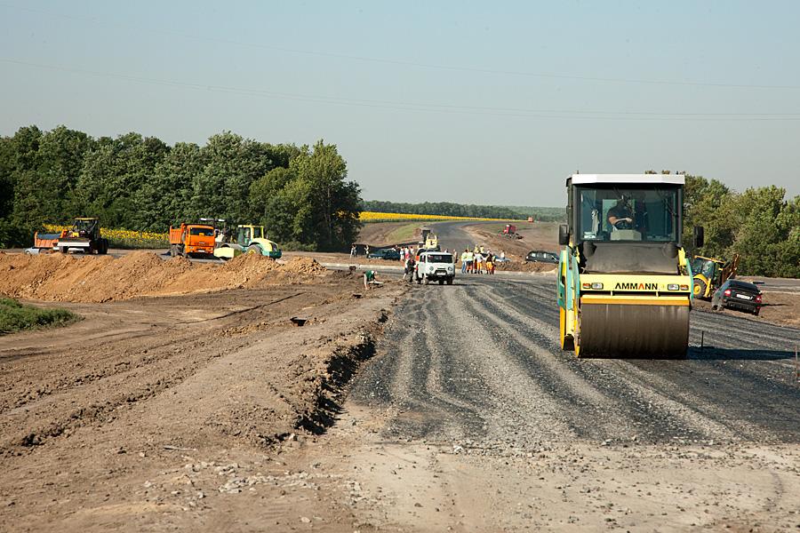 Строительство новых дорог в Ростовской области 2